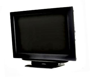 HDTV LCD, vista laterale a sinistra