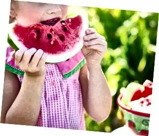 เด็กกินแตงโม