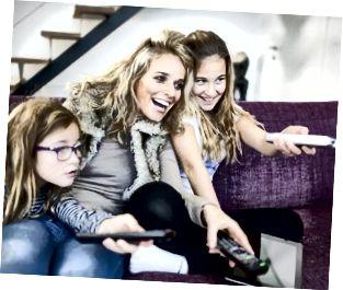 ช่องรายการสำหรับเปลี่ยนครอบครัวบนโทรทัศน์