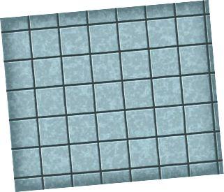 viele quadratische Keramikfliesen. Muster Textur