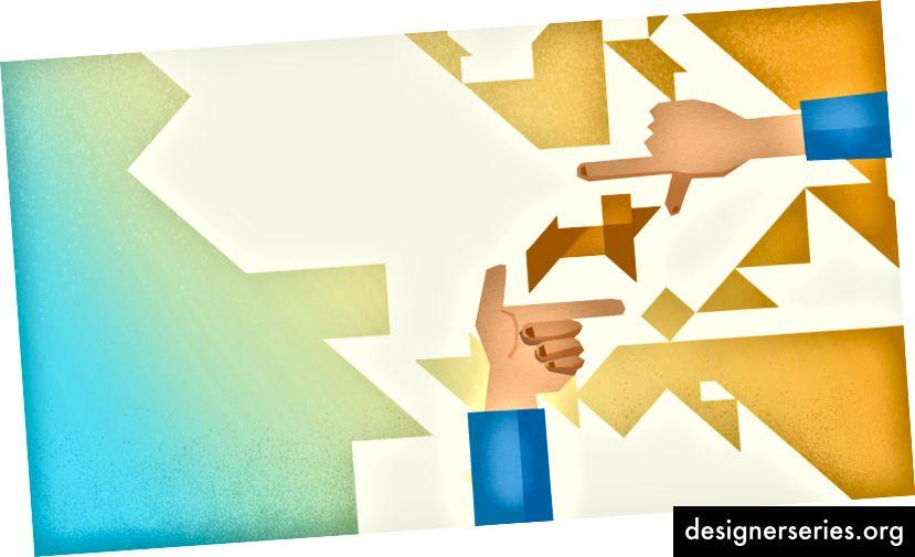 Trabaje junto con Ingeniería, Producto, etc. para reconstruir la experiencia correcta.