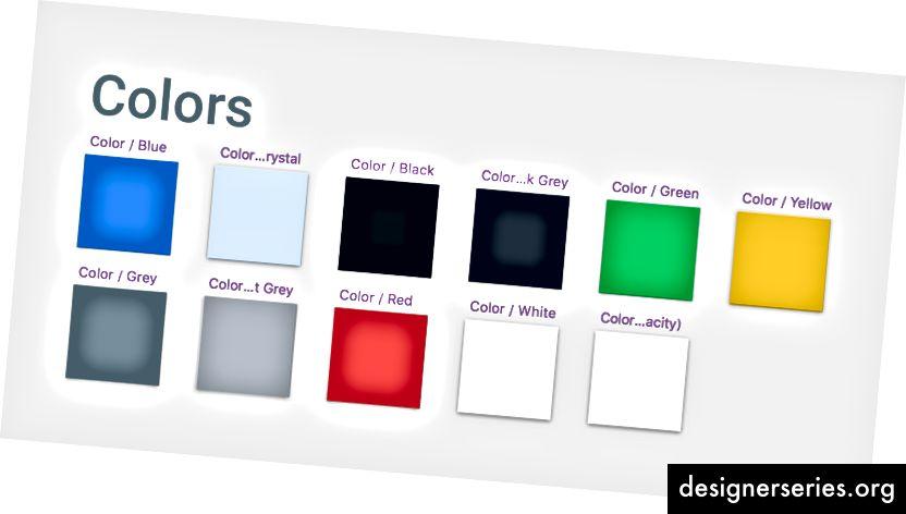 Vihje: Käytä 50%: n opasiteettivalkoista väriä, jotta elementit, kuten kuvakkeet, näyttävät läpinäkyviltä.