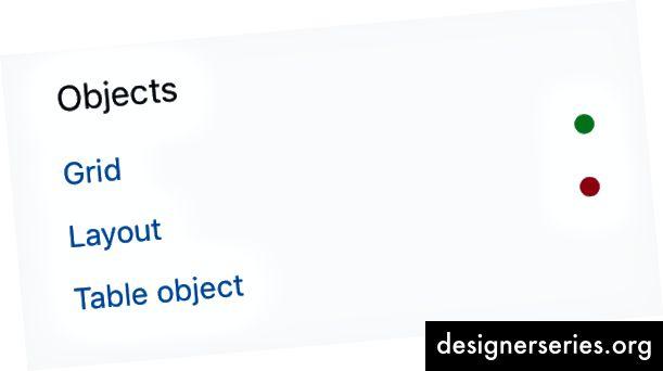 Primer og andre systemer bruger flag til hurtigt at indikere, om komponenter er forældede eller ej.
