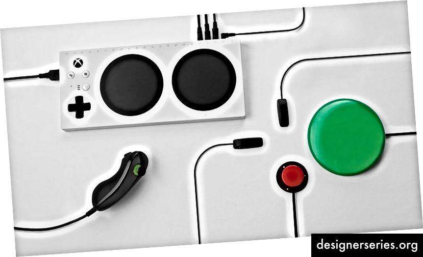 De Xbox Adaptive Controller van Microsoft is een van de nieuwste toegankelijkheidstechnologieën voor gebruikers.