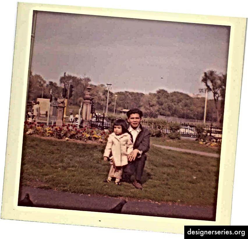 Eu și tatăl meu din Boston, unde a emigrat ca adolescent. El a ridicat în mod involuntar mai mulți lideri reticenți între frații mei și mine. (Aceasta este dedicată ție, Baba.)