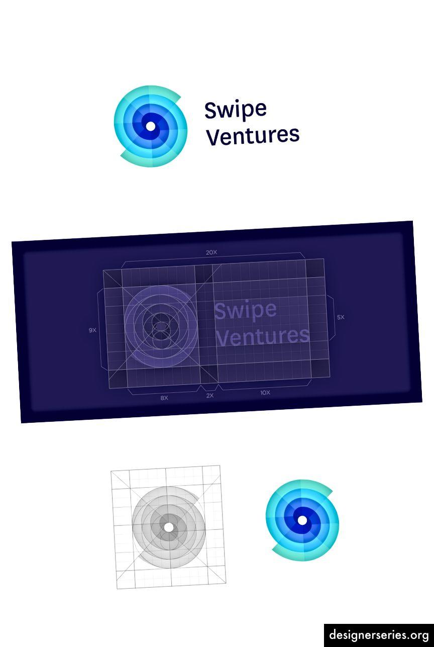 Swipe Ventures - Logo design af Jeroen van Eerden