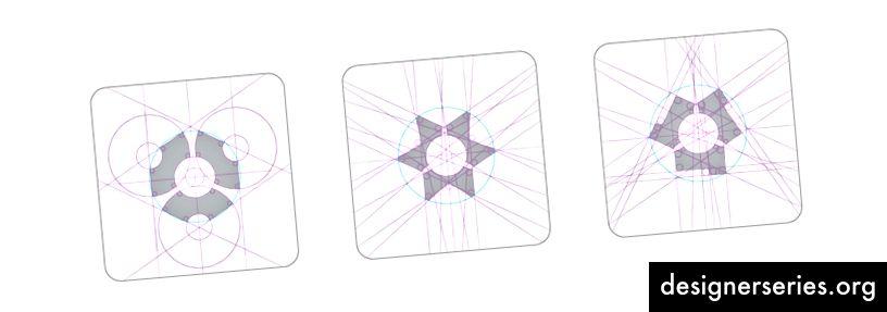 Hubstaff Logo Gendesign Grid Constructions af Jeroen van Eerden