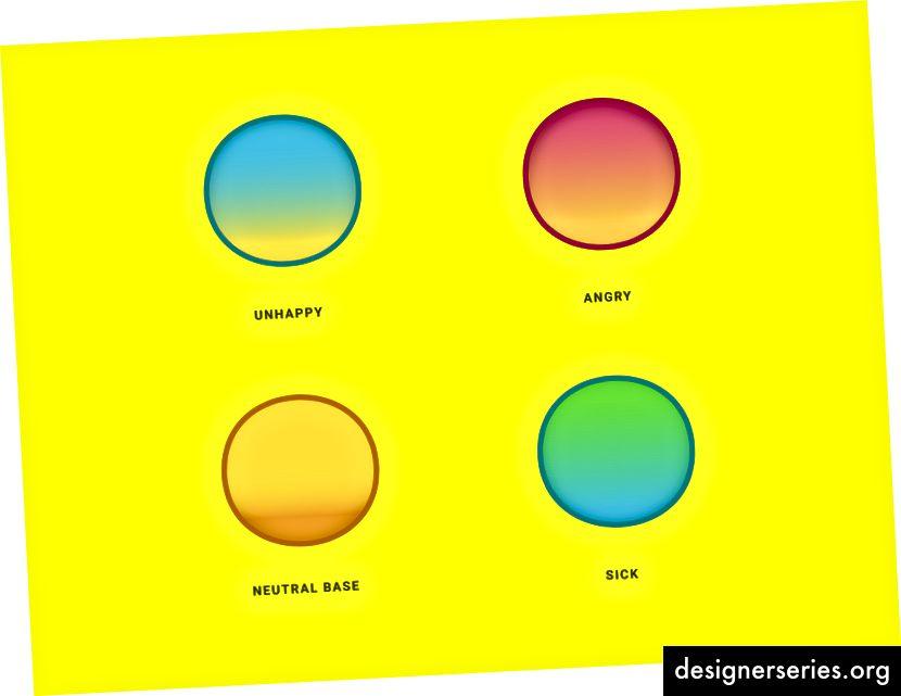 Kleuren versterken de emotie