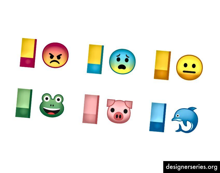 Het nieuwe kleursysteem verenigt de emoji-set.