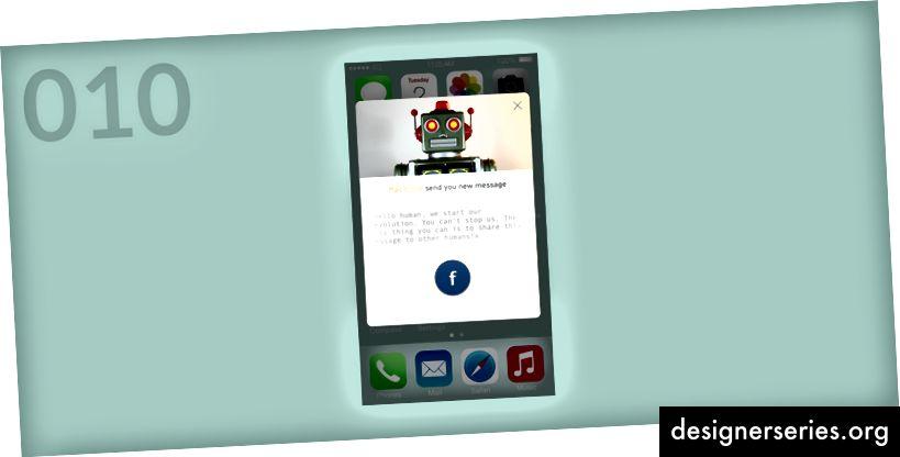 Compartir ventana emergente para la aplicación Terminal iOS