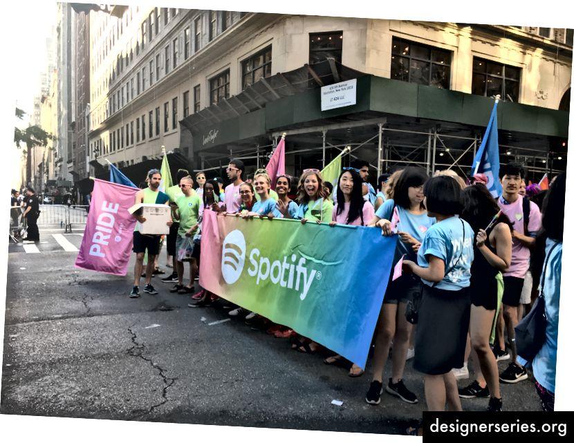 Desfile del orgullo de Nueva York