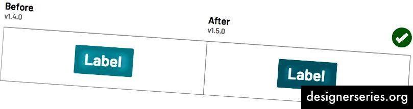 Налаштування кольору фону основної кнопки