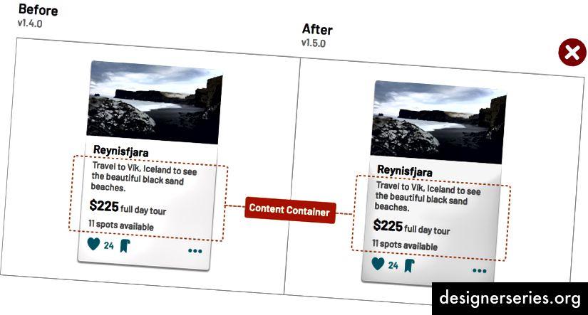 Налаштування кольору фону картки, що дозволяє містити нестандартний вміст