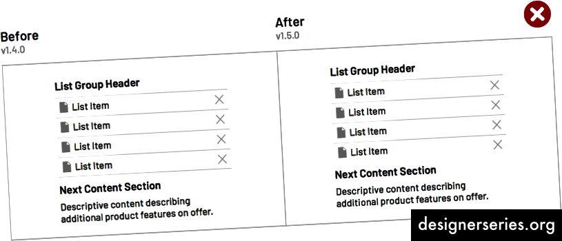 अन्य घटकों के पास व्यवस्थित एक घटक के सीमा रंग समायोजित करना