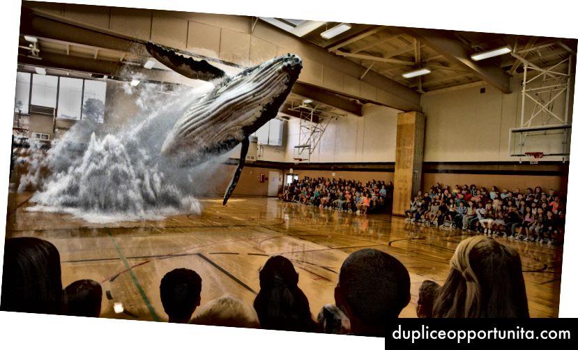 Da Magic Leap, mostrando ciò che è possibile con la loro tecnologia
