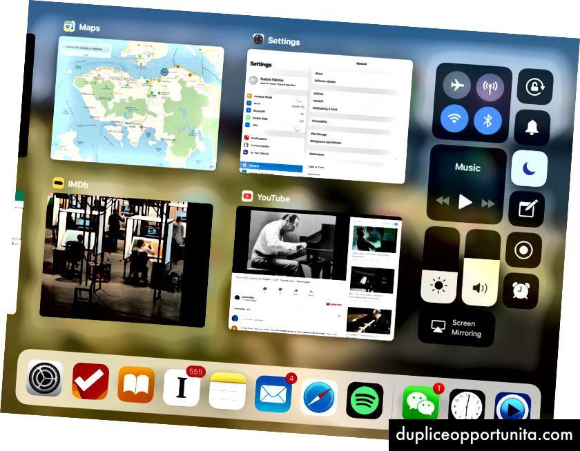 iPadの新しいアプリスイッチャー(iOS 11 Beta 5以降)