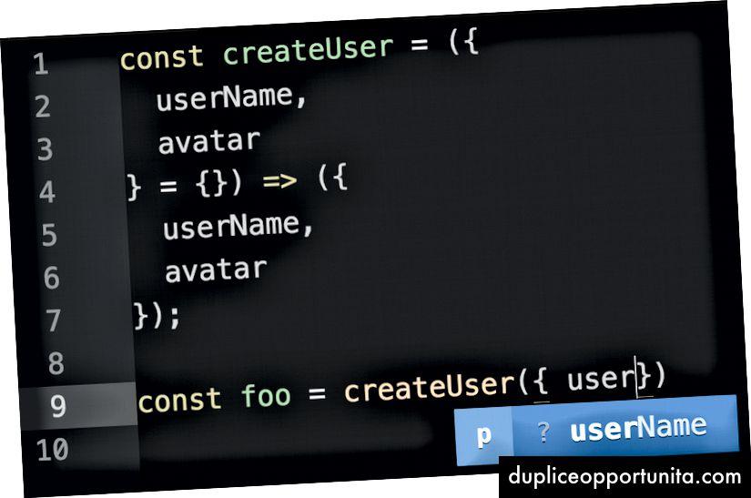 기본값이 없으면`userName`에 대한 유형을 알 수 없습니다.