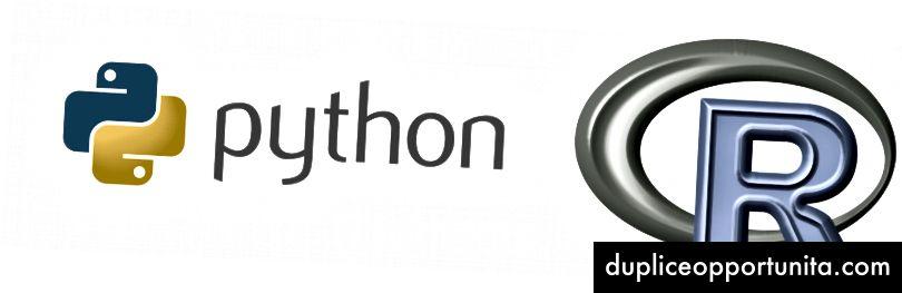 Python e R sono i due linguaggi di programmazione più popolari utilizzati nella scienza dei dati.