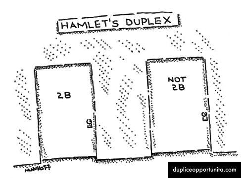Questo programma dinamico sceglie tra due opzioni per ogni passaggio, proprio come il nostro caro amico Amleto!