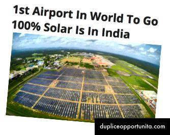インドの高知空港(出典:Clean Technica)