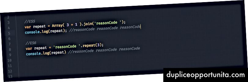 reasonCode #codeForAReason