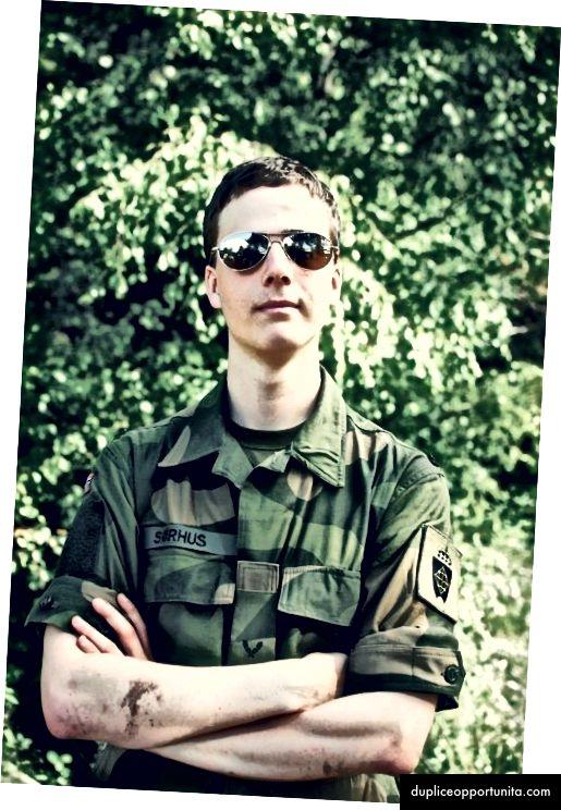 Sindre in campo militare