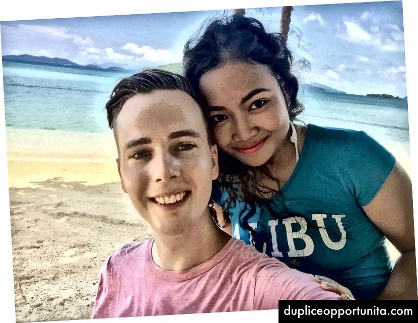 Sindre e la sua ragazza sono a Koh Mak, in Thailandia
