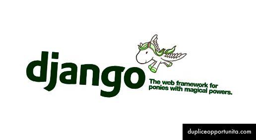 장고, 마법의 힘을 가진 조랑말을위한 웹 프레임 워크.