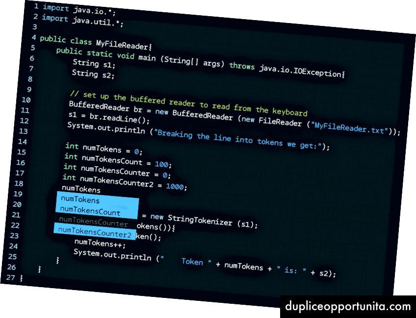 Esempi in C, Python e Java