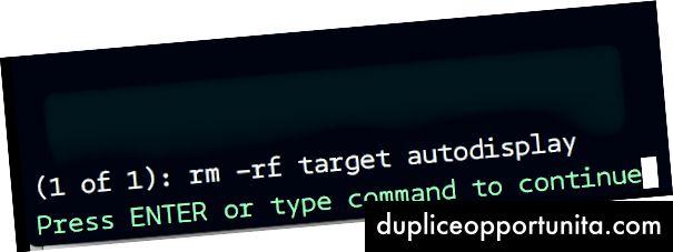 Pulizia della directory usando il comando make da VIM