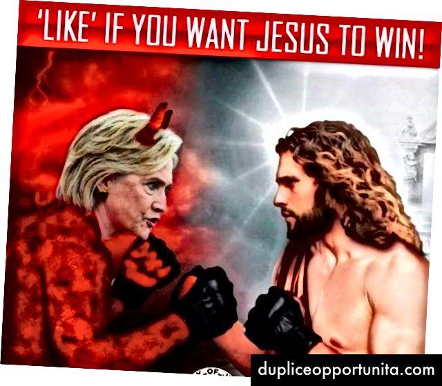 選挙の数週間前に実行されたロシアのエージェントが購入したFacebook広告。