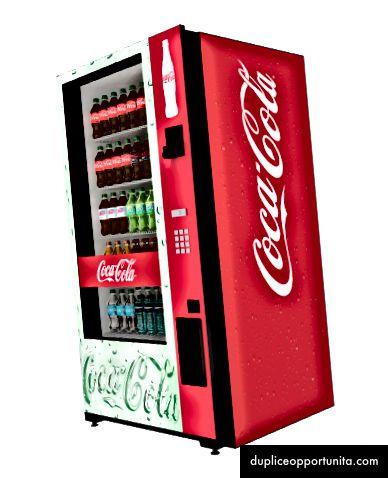 Ecco, la macchina magica che sputa sostentamento ad alto contenuto di fruttosio.