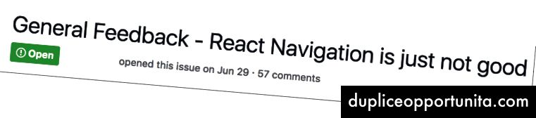 Reagisci feedback sulla navigazione