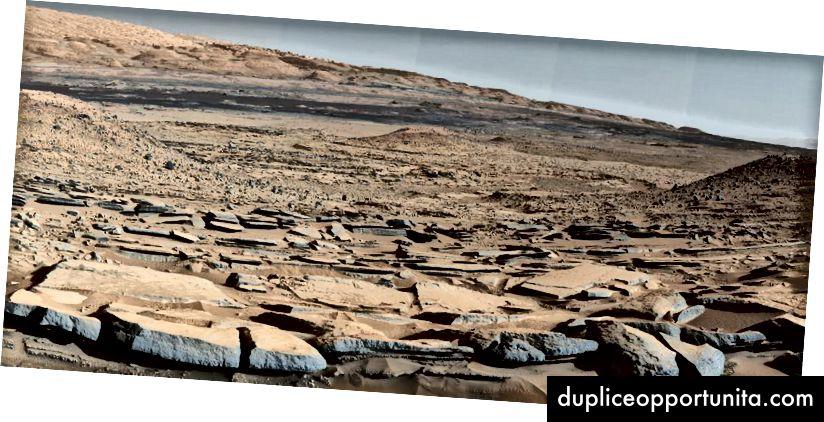 Mars Mount Sharp: foto per gentile concessione della NASA