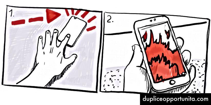"""Flip Out е нов садистки въртене на стария етикет """"няма телефони на масата""""."""