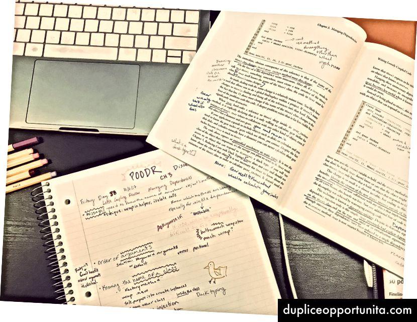 le mie note POODR e il libro annotato