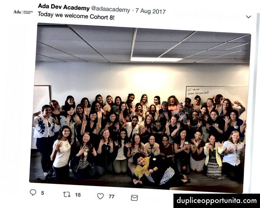 My Cohort of Adies C [8]!