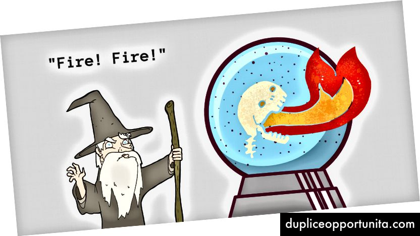 No, non è un mago. È un profeta.