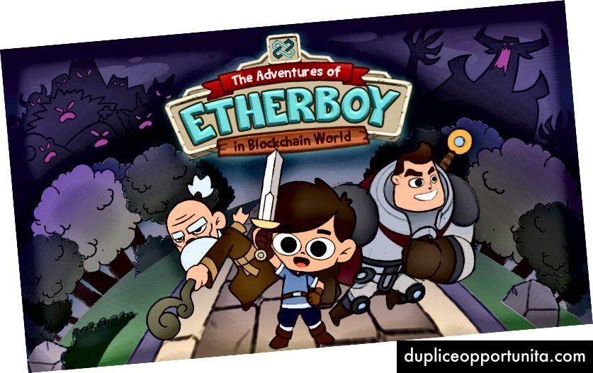 """""""Приключенията на Etherboy в Blockchain света"""" Splash Screen (ALPHA VERSION)"""