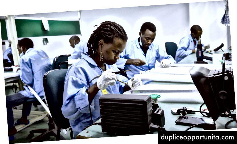 Investering i fremadrettede færdigheder har spillet en nøglerolle. Foto: Inmarsat