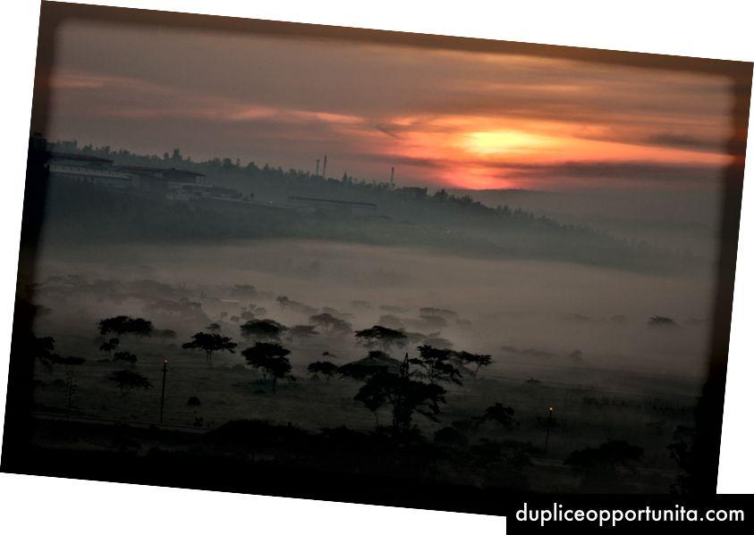 Udsigt over byen Kigali. Foto: Maxime Niyomwungeri via Unsplash