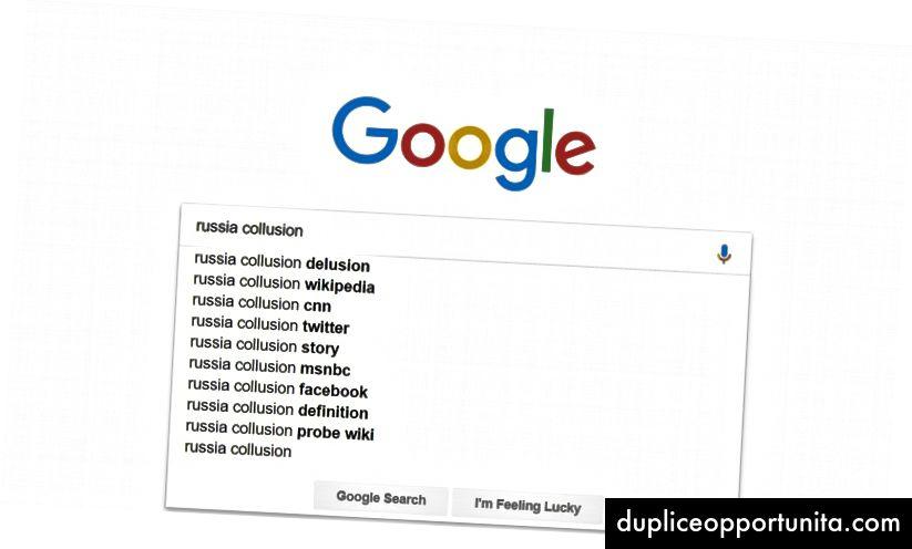 En Google-søgning udført i et inkognitovindue. Foto: Skærmbillede