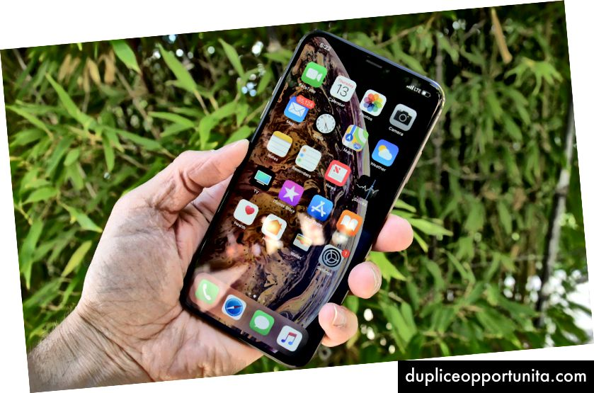 6,5-tuumainen Apple iPhone Xs Max. Kuva: Lance Ulanoff