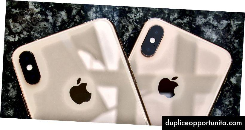 Kaksi puhelinta, sama kaksoiskameran 12 megapikselin kamera. Kuva: Lance Ulanoff