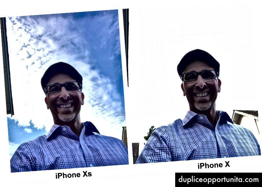 Napauttamatta aihetta (minua!) Ja äärimmäistä taustavaloa (aurinkoa!) Smart HDR: llä varustetut iPhone Xs tekee melko merkittävän työn valotuksen hallitsemiseksi. Kuva: Lance Ulanoff