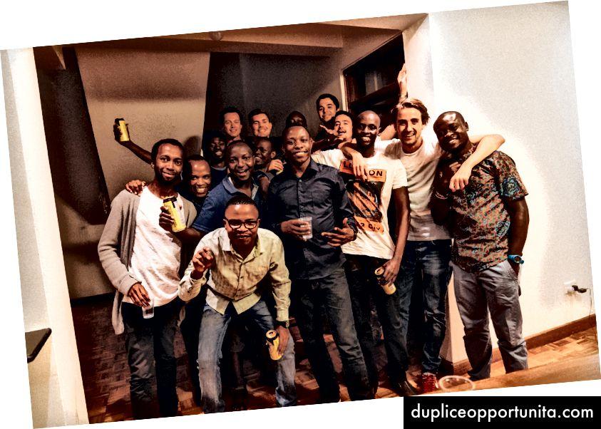 Nyama Choma (BBQ) perjantai Caspar-koodauspäälliköllä