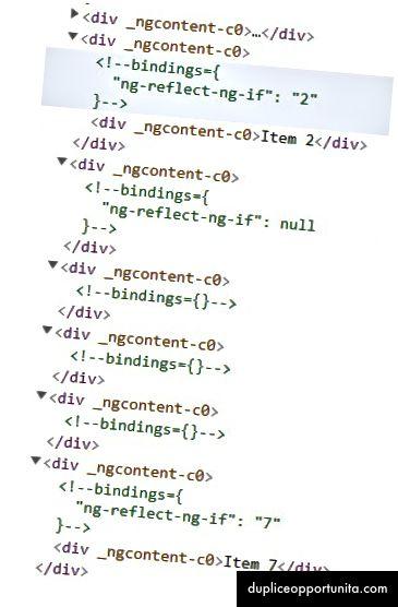 Esimerkki 1- Lopullinen renderoitu DOM