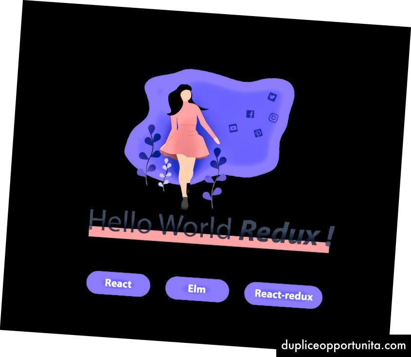 基本的なHello World Reduxアプリケーション。