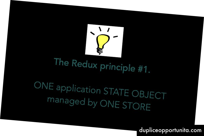 最初のRedux Princple