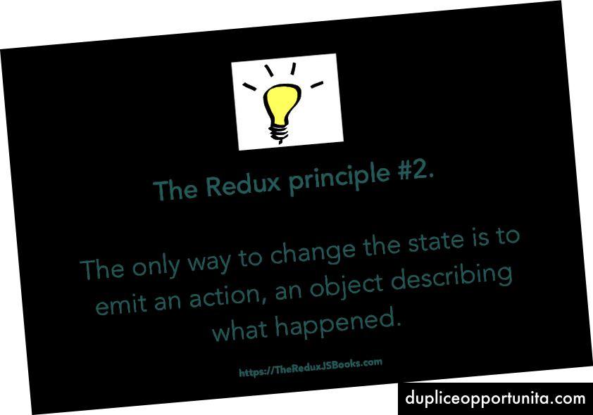 2番目のReduxの原則。
